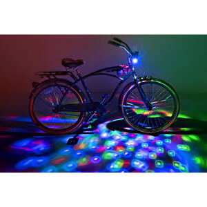 Brightz  CruzinBrightz  bike lights  LED Bicycle Light Kit  ABS Plastics/Electronics  1 pk
