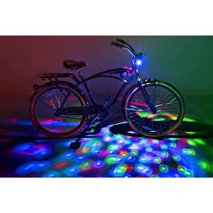 Brightz Ltd.  CruzinBrightz  LED Bicycle Light Kit  ABS Plastics/Electronics  1 pk