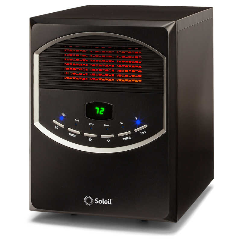 Soleil  5118 BTU/hr. 200 sq. ft. Infrared  Heater