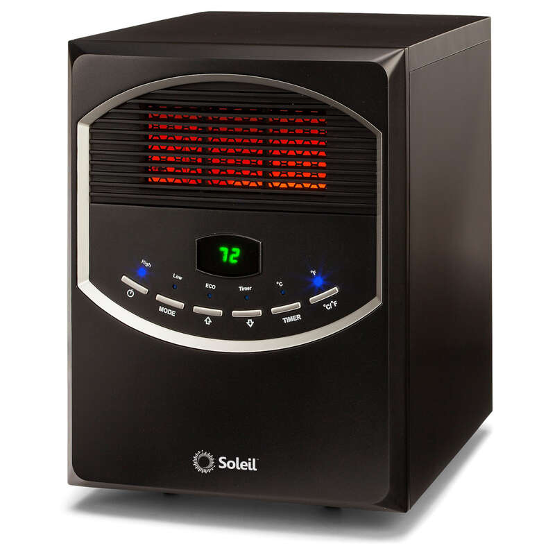 Soleil  5118 BTU/hr. 200 sq. ft. Infrared  Electric  Heater