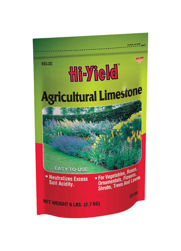 Hi-Yield  Agricultural Lime  100 sq. ft. 6