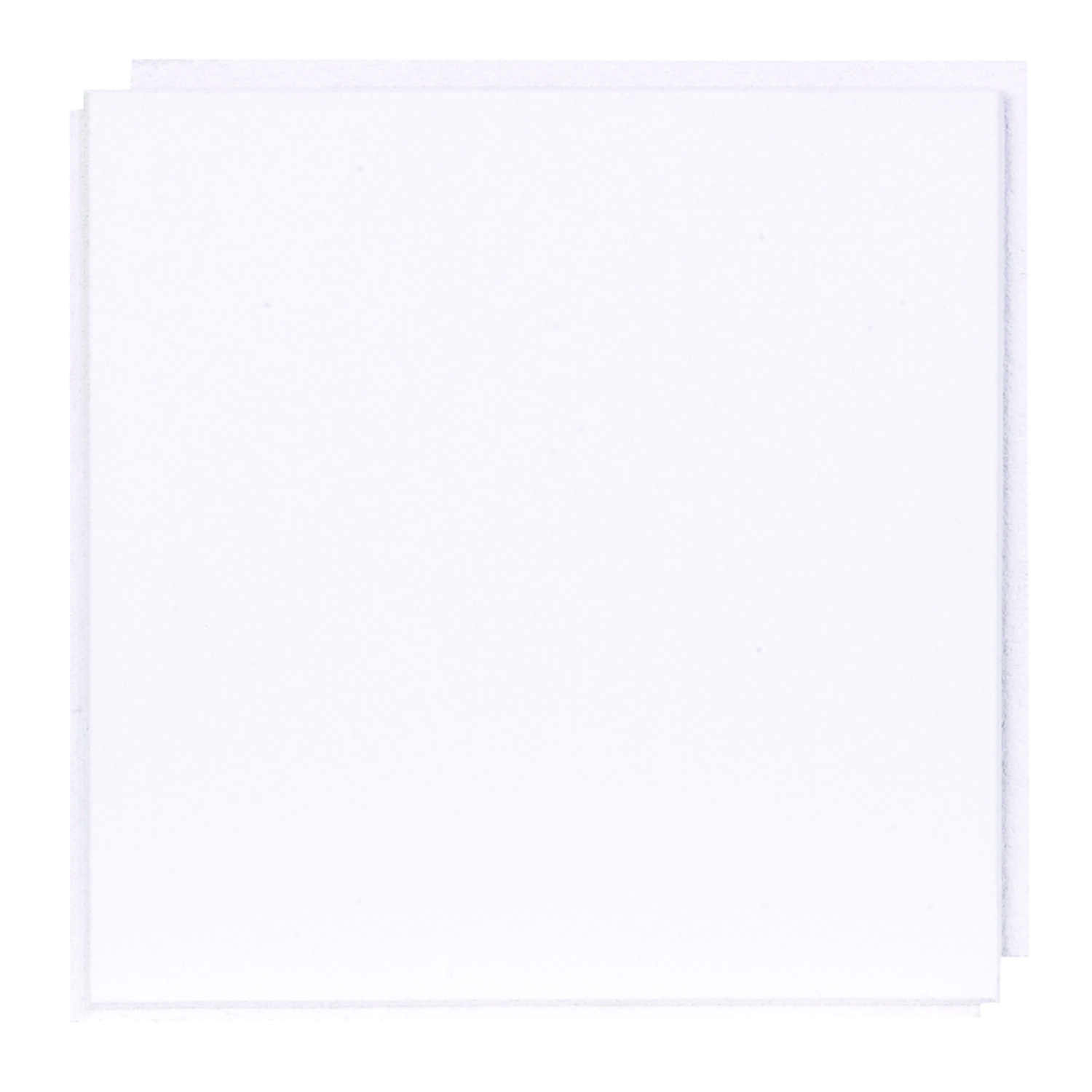 USG  Custom  12 in. L x 12 in. W 0.5 in. Staple  Ceiling Tile  1 pk
