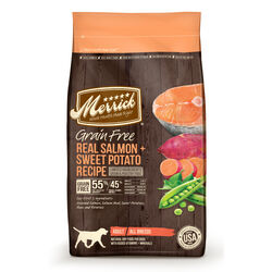 Merrick  Salmon and Sweet Potato  Dry  Dog  Food  Grain Free 10 lb.