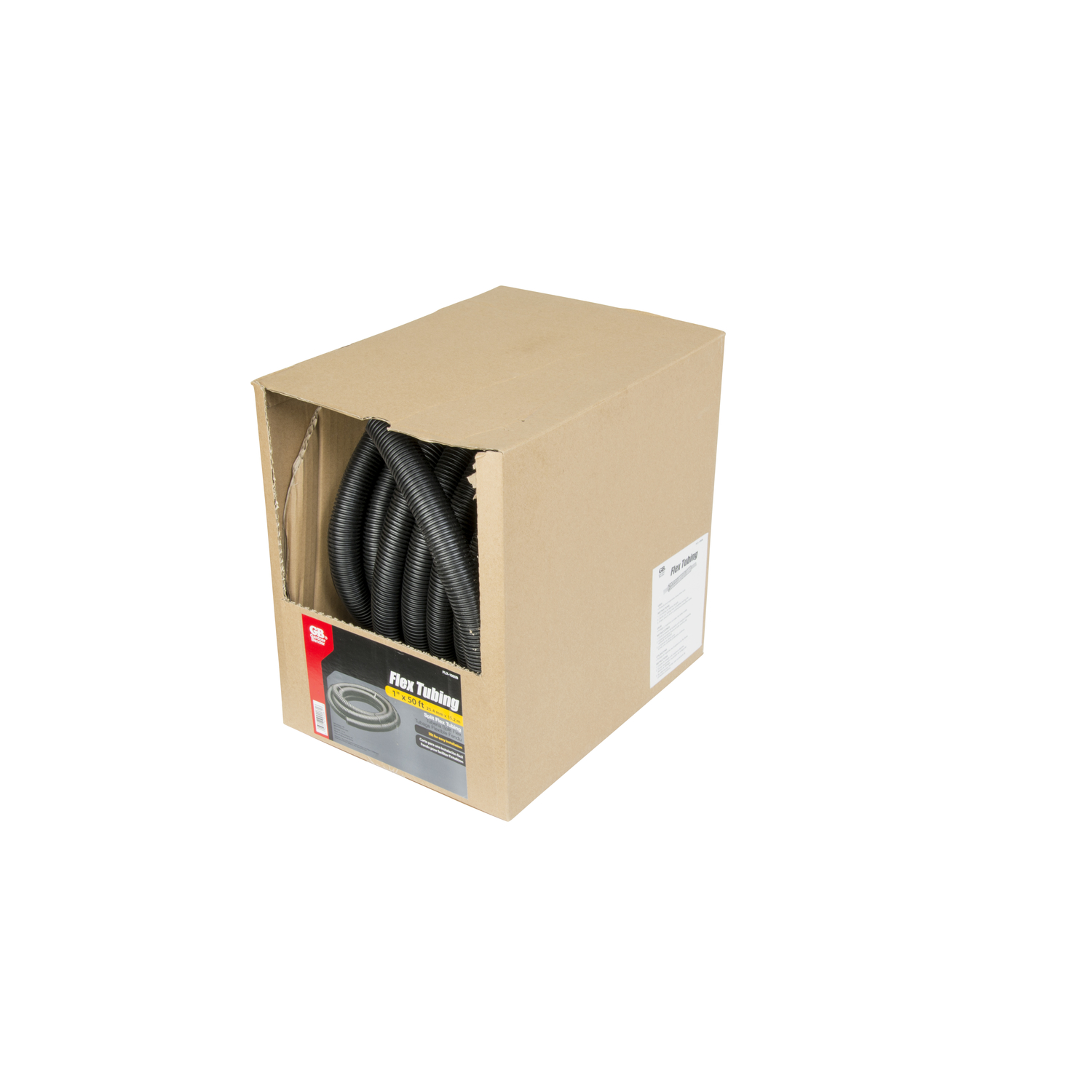 Gardner Bender  1 in. Dia. x 50 ft. L Black  Polypropelene  Flex Tube