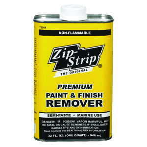 Zip-Strip  Premium Paint and Finish  Professional Strength Paint Remover  32 oz.