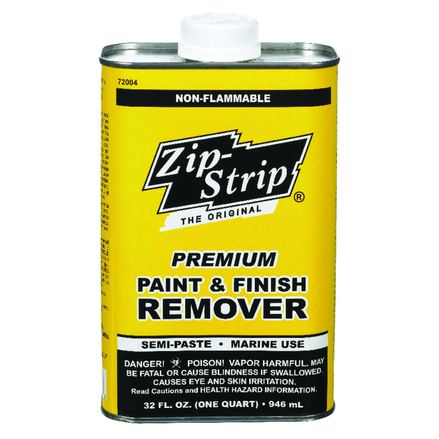 Zip-Strip  Premium Paint and Finish  Professional Strength Paint Remover  1 qt.
