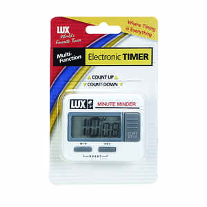 Lux  Mute Mder  Digital  Plastic  Kitchen Timer