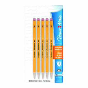 Papermate  SharpWriter  0.9 mm  Mechanical  Pencil  5 pk