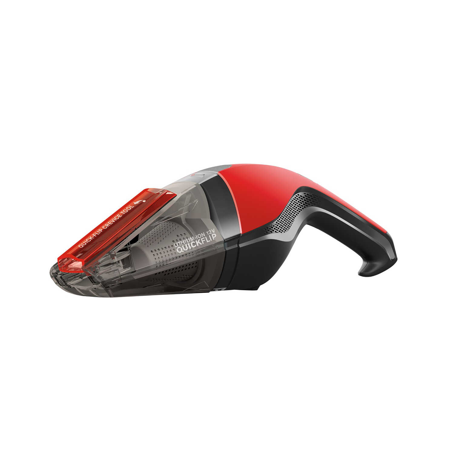 Dirt Devil  QuickFlip  Bagless  Pet Vacuum  Standard  Red