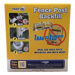 Fast 2K  Fence Post Backfill  12.4 oz.