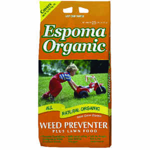 Espoma  Organic 9-0-0  Weed and Feed with Corn Gluten  For All Grass Types 25 lb.