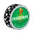 Duck  0.75 in. W x 180 in. L Black/White  Mod Dots  Duct Tape