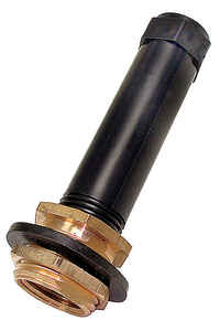 Dial  Brass  Black  Drain/Overflow Pipe Kit