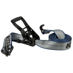 Keeper  2 in. W x 14 ft. L Gray  Tie Down Strap  3333 lb. 1 pk