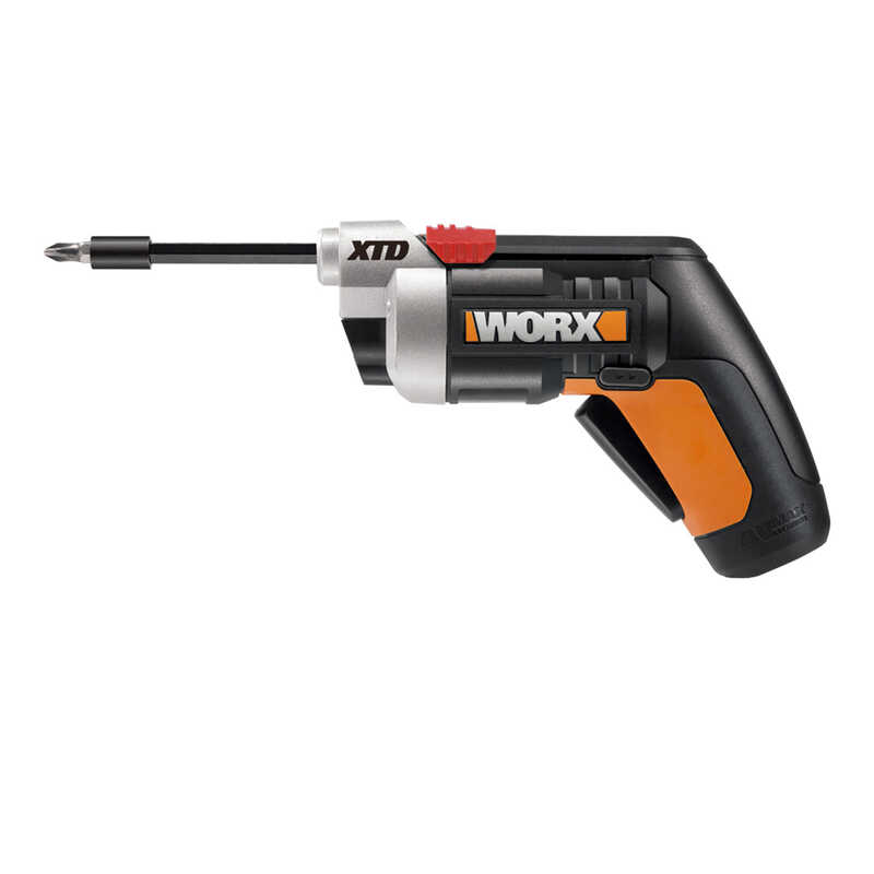 Worx  XTD  1/4 in. Cordless  Powered Screwdriver  4 volts 230 rpm