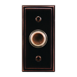 Heath Zenith  Oil Rubbed Bronze  Pushbutton
