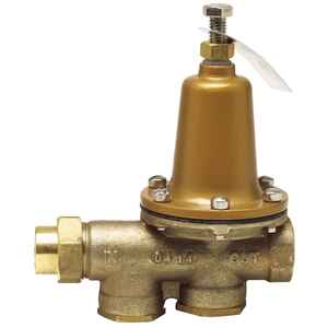 Watts  3/4 in. Brass  Water Pressure Reducing Valve