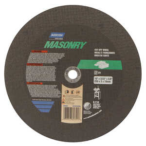 Norton  Silicon Carbide  3/32 in.  x 5/8 in.  Cut-Off Wheel  1 pc. 10 in.