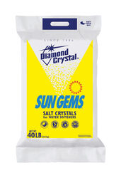 Diamond Crystal Sun Gems Water Softener Salt Crystal 40 lb.