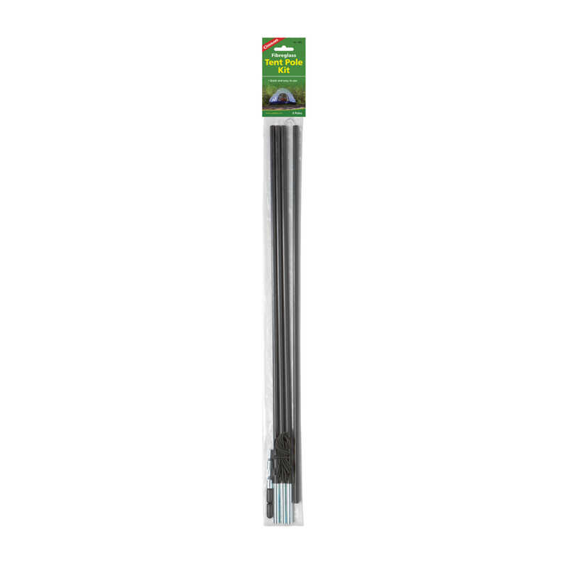 Coghlan's  Black  Tent Pole Replacement  25-5/8 in. H x 2-5/16 in. W x 2-5/16 in. L 4 pk