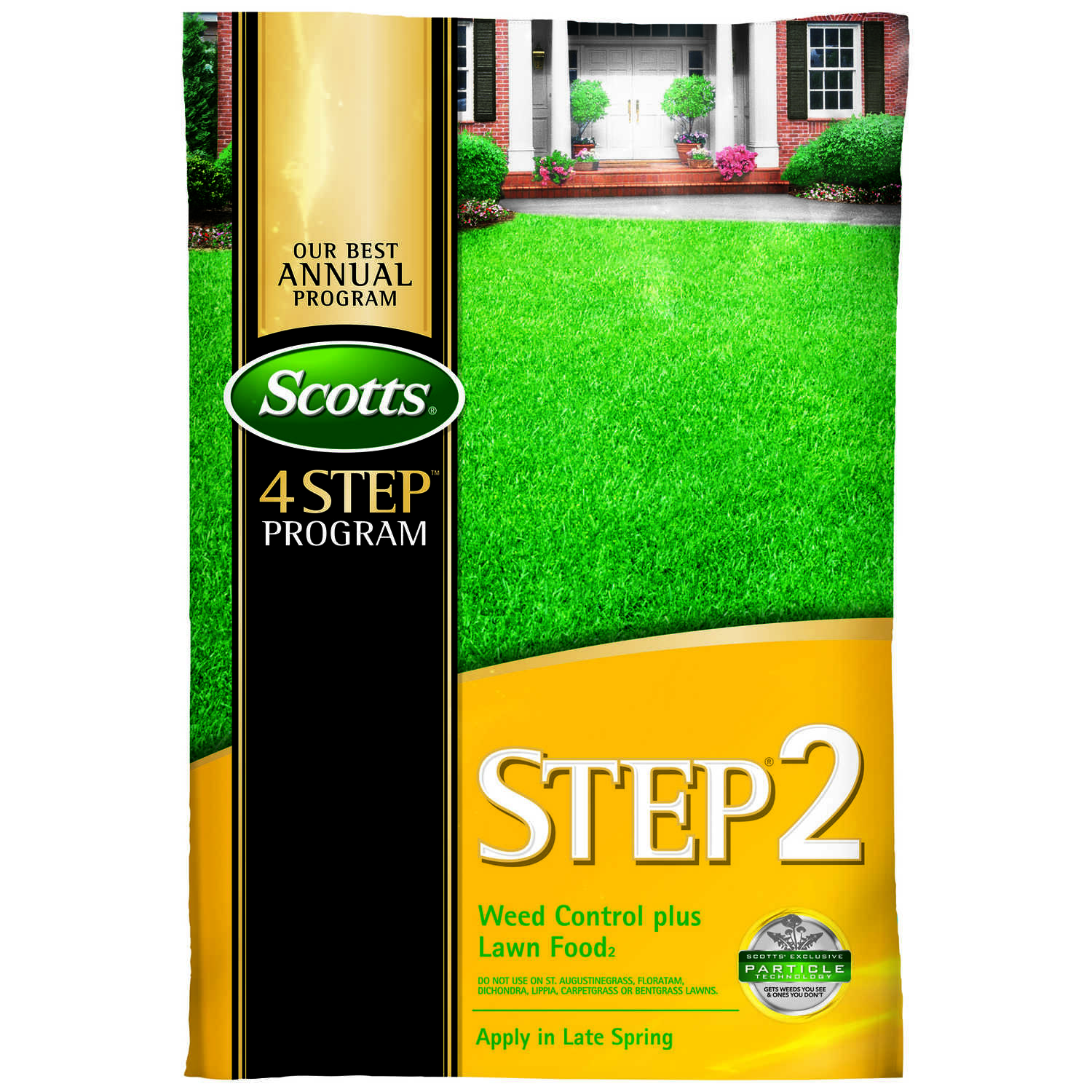 Scotts  Step-2  28-0-3  Winterizer Weed And Feed  For All Grass Types 14.29 lb.