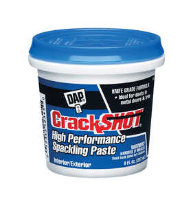 DAP  CrackShot  Ready to Use White  Spackling Compound  0.5 pt.