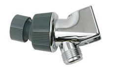 Ace  Chrome  Plastic  Shower Arm Mount
