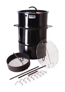 Pit Barrel Cooker Co.  Charcoal  Stand Alone  Outdoor Cooker  Black