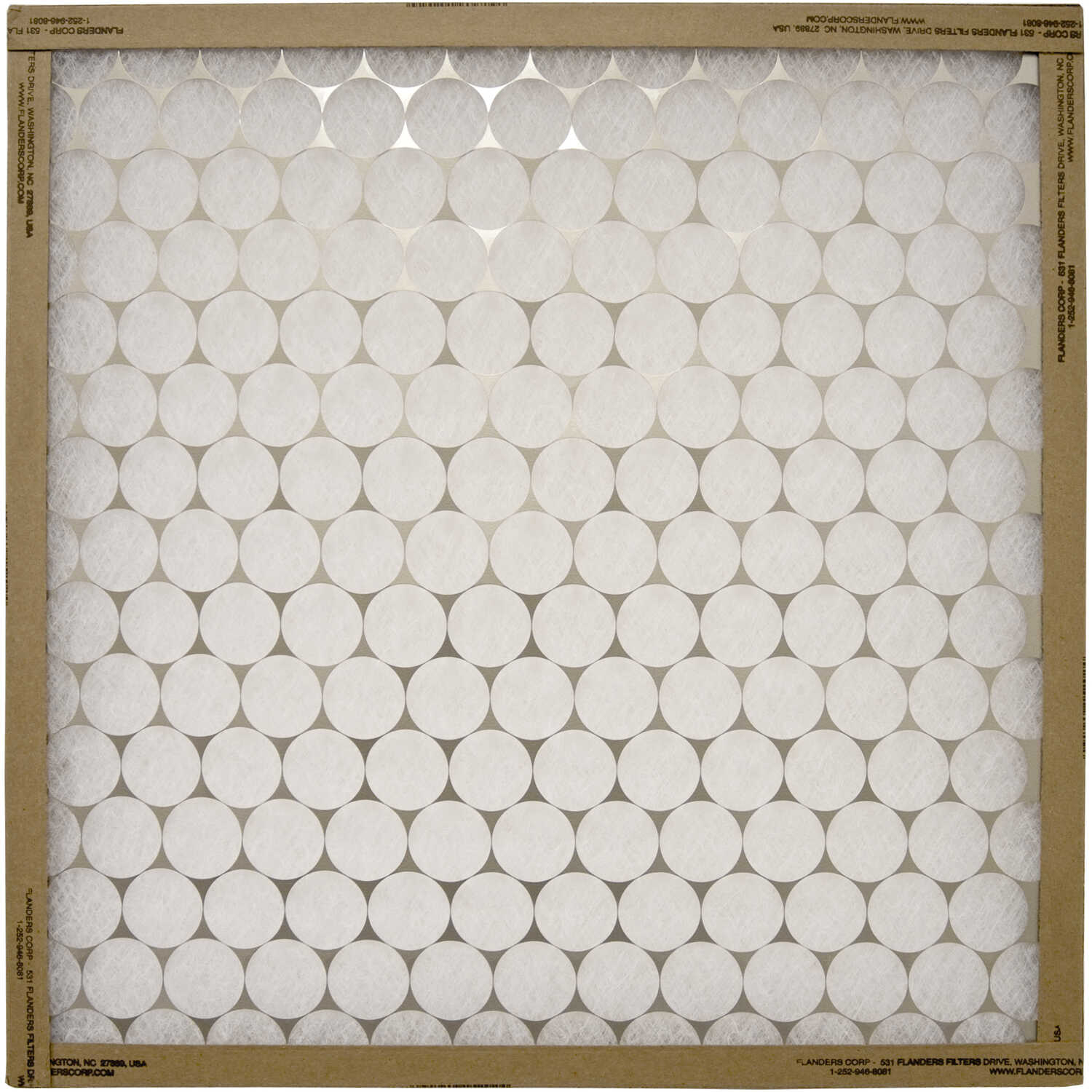 AAF Flanders  21-1/2 in. H x 21-1/2 in. W x 1 in. D Fiberglass  Air Filter