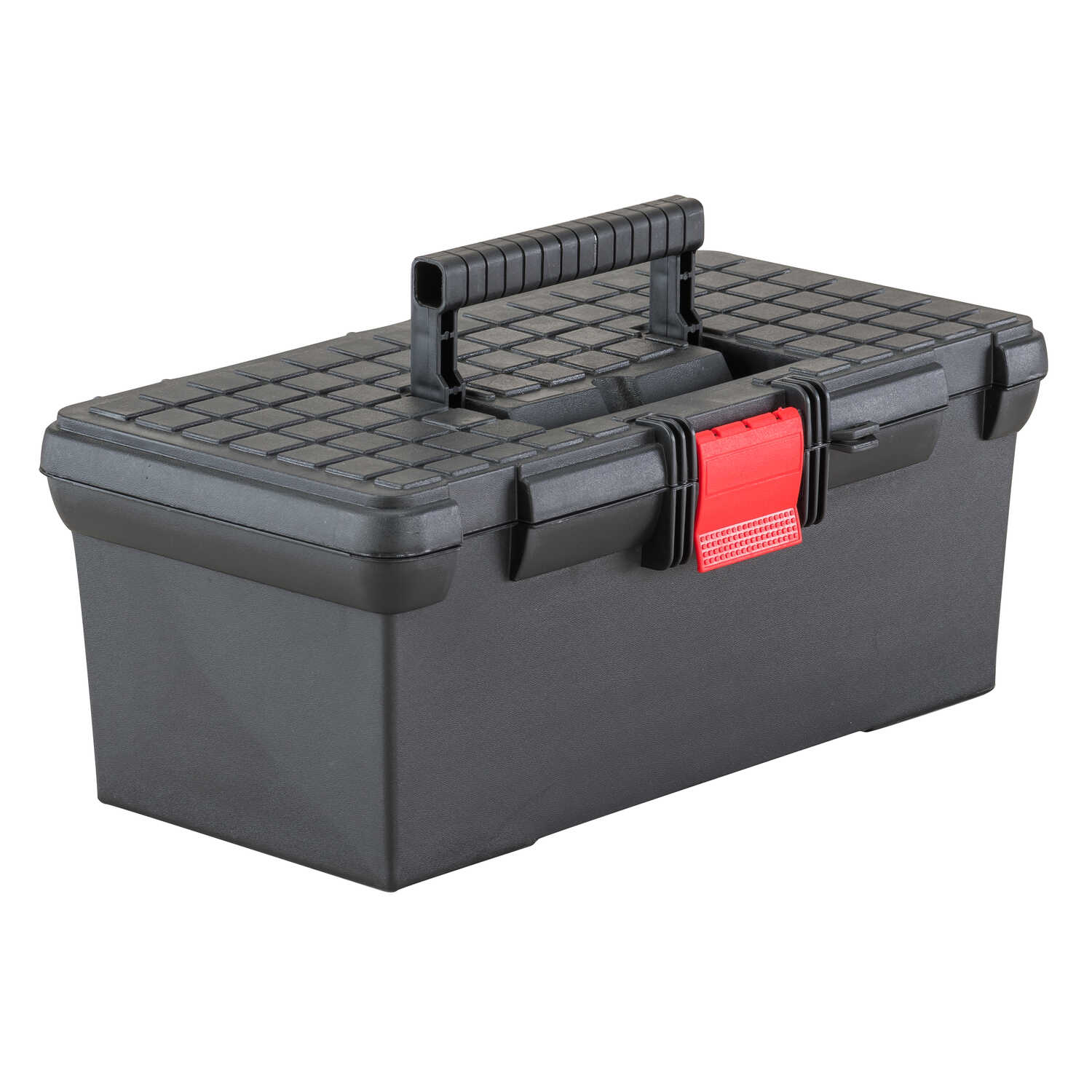 Craftsman  16 in. Plastic  Classic  Tool Box  6.4 in. H Black