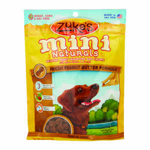 Zuke's  All Natural Mini  Peanut Butter  Dog  Treats  1 pk 6 oz.