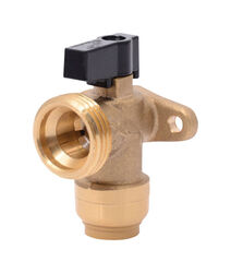 SharkBite  1/2 in. PTC   x 3/4 in.  MIP  Brass  Washing Machine Valve