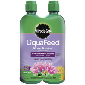 Miracle-Gro  LiquaFeed Bloom Booster Refill  Liquid  Plant Food  2-16 oz.