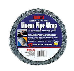 Reflectix  25 ft. L Linear Pipe Wrap  24.5 in.