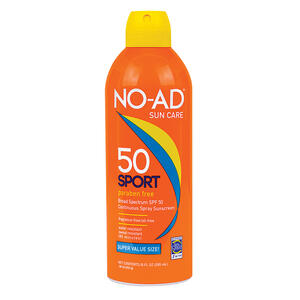 NO-AD  Sport SPF 50  Continuous Spray Sunscreen  10 oz. 1 pk