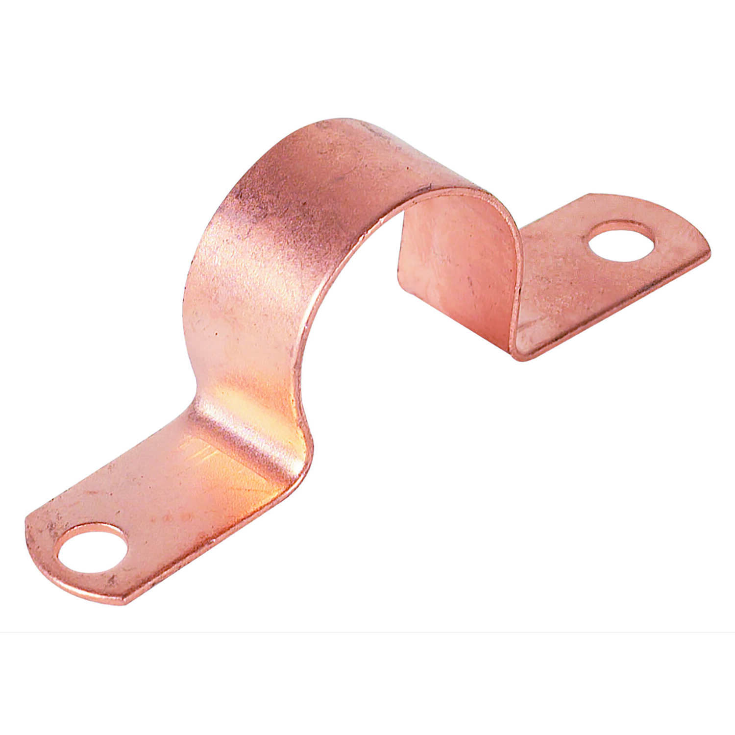 Warwick Hanger  3/4 in. Copper Plated  Carbon Steel  Tube Strap