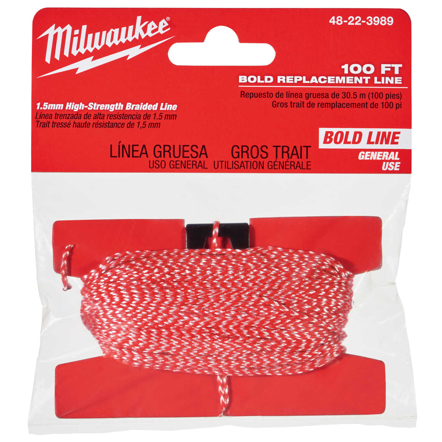 Milwaukee  Bold  Replacement Chalk String  100 ft.