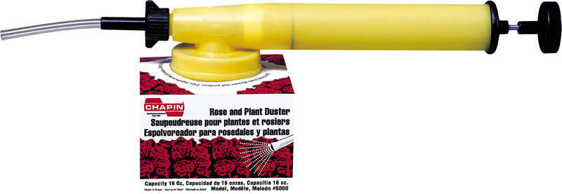 Chapin  Adjustable Spray Tip Plant And Rose Powder Duster  16 oz.