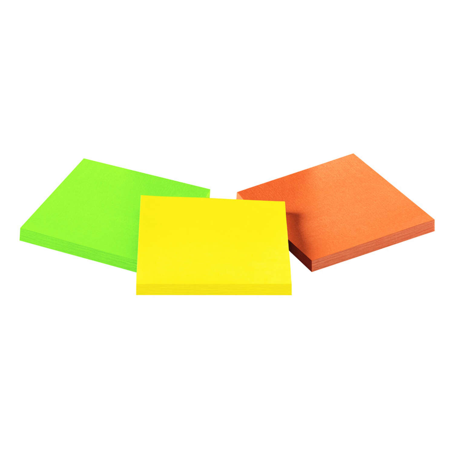 Post-it  Extreme  3 in. W x 3 in. L Assorted  Sticky Notes  3 pad