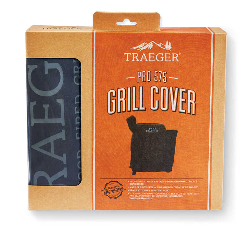 Traeger Black Grill Cover For Pro 575-TFB57GLE TFB57GZE or