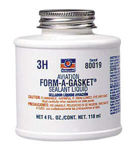 Permatex Aviation Form-A- Gasket 4 fl. oz. -65 to 400 deg. F