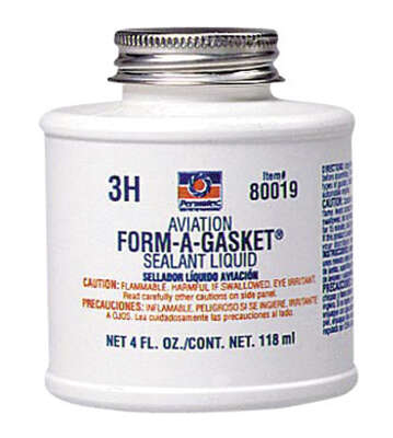 Permatex  Type-3  Automotive Gasket Compound  4 oz. 1