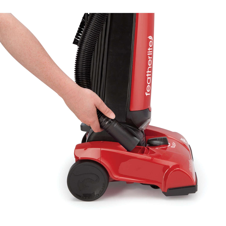 Dirt Devil Featherlite Bagged Upright Vacuum 10 Amps Filter Bag Red