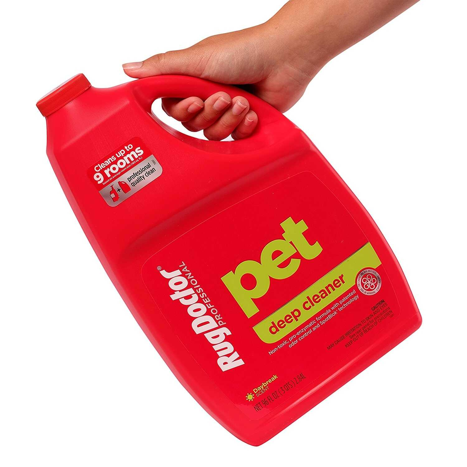 Rug Doctor  Pet Deep  Daybreak Scent Carpet Cleaner  96 oz. Liquid  Concentrated