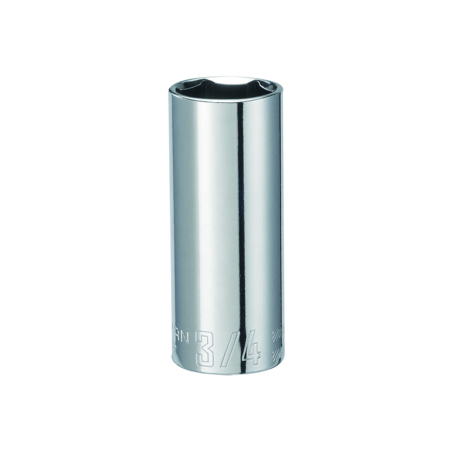 Craftsman  3/4 in.  x 3/8 in. drive  SAE  6 Point Deep  Socket  1 pc.