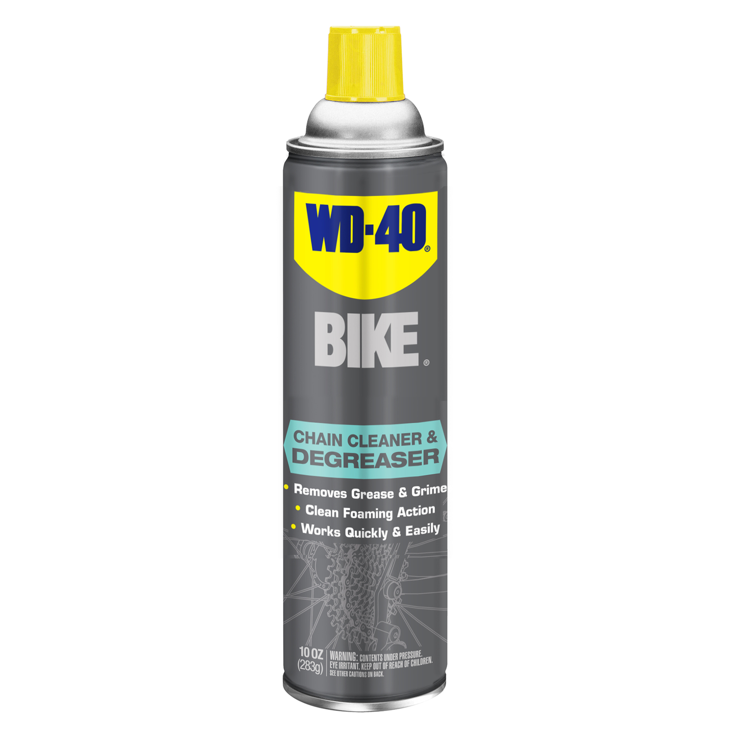 WD-40  Bike  Unscented Scent Chain Cleaner and Degreaser  10 oz. Spray