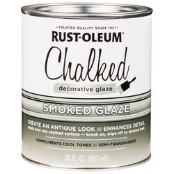 Rust-Oleum  Chalked  Smoked  Decorative Glaze  30 oz.