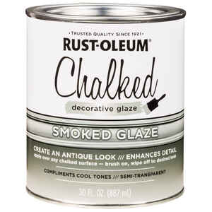Rust-Oleum  Chalked  Smoked  Glaze  30 oz.