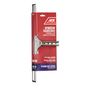 Ace  16 in. Stainless Steel  Window Squeegee