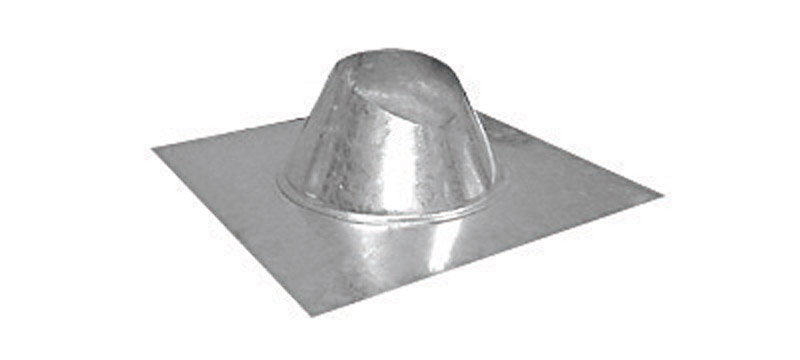 Imperial Manufacturing  6 in. Dia. Galvanized Steel  Adjustable Fireplace Roof Flashing